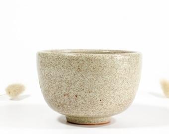 Minimalist ceramic cup without handle 210 ml | tea bowl handmade [278]