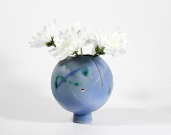 Ball Vase | Spherical Vase | Handmade Orb Planter | Mini Flower Pot | Air Plant Holder | 356