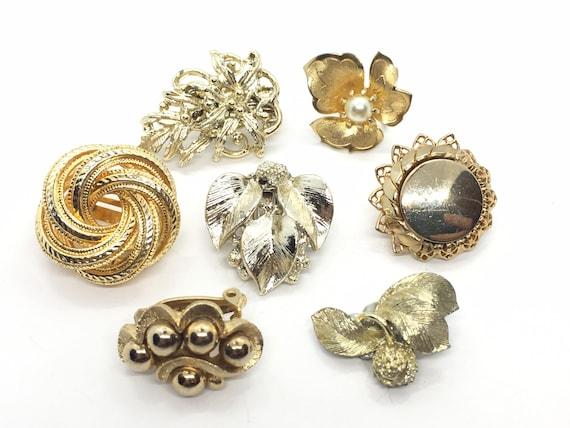 Destash vintage copper jewelry junk lot