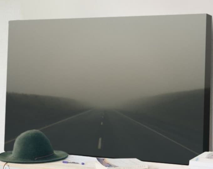 The Hazy Road Forward - Canvas