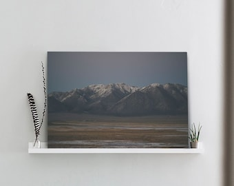 Milky Mountains One - Canvas Template