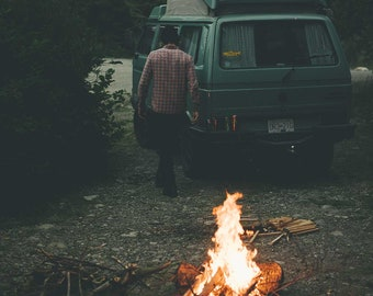 Stayin' Warm - Digital Download  / Van Fire Campfire Road Trip PNW
