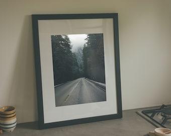 Just Passing Through - Framed Art Print