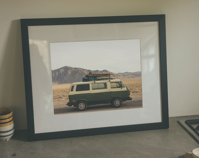 Miles from the Coast - Framed Art Print