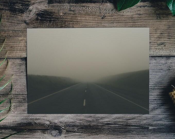 The Hazy Road Forward - Art Print