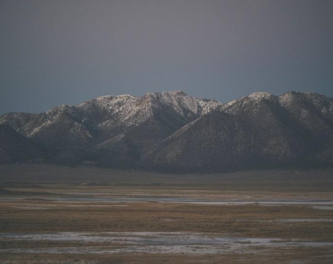 Milky Mountains One - Art Print