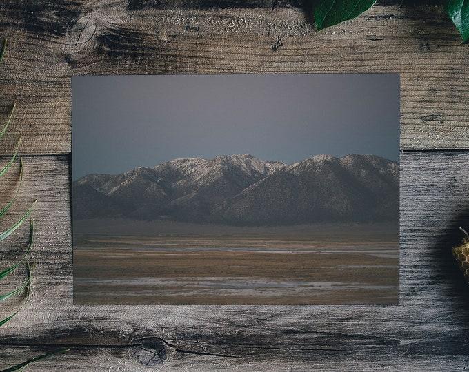Milky Mountains One - Framed Art Print