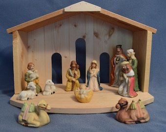 Christmas Nativity Stable - Celestial - 30% off - Nativity set not included