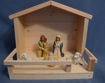 Christmas Nativity Stable - 30% 0ff - Nativity set not included