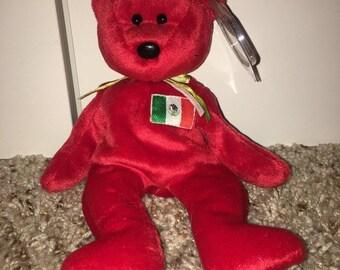 61975dd4802 RARE 1999 Osito Beanie Baby Mexico