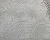 White Shiny shop sequins 4 way stretch on A MESH lace Sold By the yard for decorations fashion wedding prom dresses, tablecloths night gowns