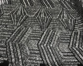 Silver Black Shiny sequins 4 way stretch on A MESH lace Sold By the yard for decorations fashion wedding prom dress,tablecloths night gowns