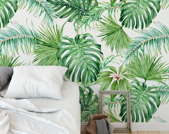 home decor ideas use tropical leaves.htm tropical nursery etsy  tropical nursery etsy