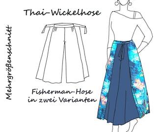 Thai-Hose fisherman Schnittmuster