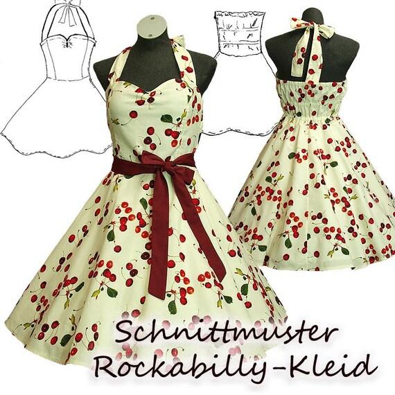 Schnittmuster e-book Petticoat-Kleid S-XL   Etsy