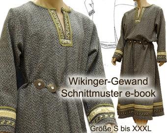 Schnittmuster Mittelalter Wikinger-Tunika