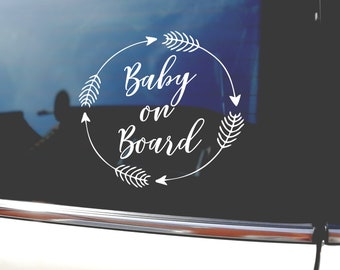 Non Personalised Child//Baby On Board Car Sign ~ Baby Boys On Board ~ D.Blue