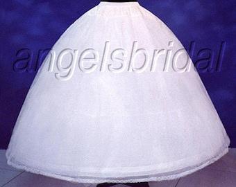 4649c23ee481 4-Hoop Petticoat Crinoline Bridal Wedding Gown Dress Underskirt Skirt Slip