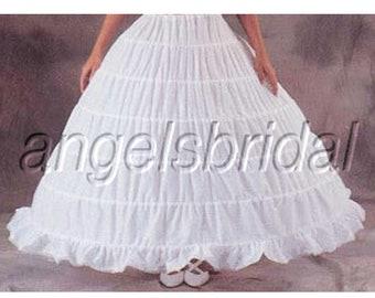 b8a07ed4c9684 Mega Full 6-Hoop Petticoat Crinoline Bridal Wedding Ball Gown Dress Underskirt  Skirt Slip