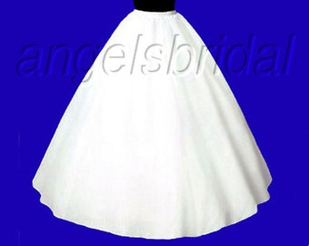 023e4c2b940ea Extra Full A-line Petticoat Crinoline Bridal Wedding Gown Dress Underskirt  Skirt Slip