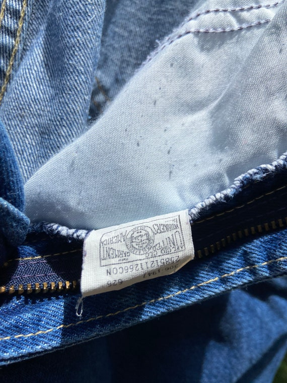 Vintage 80's Lee Jeans Union Made - image 5