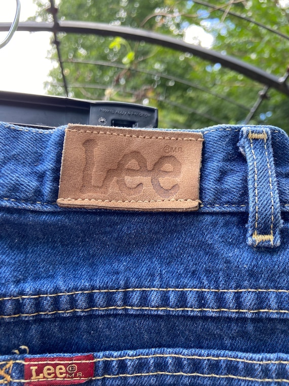 Vintage 80's Lee Jeans Union Made - image 2