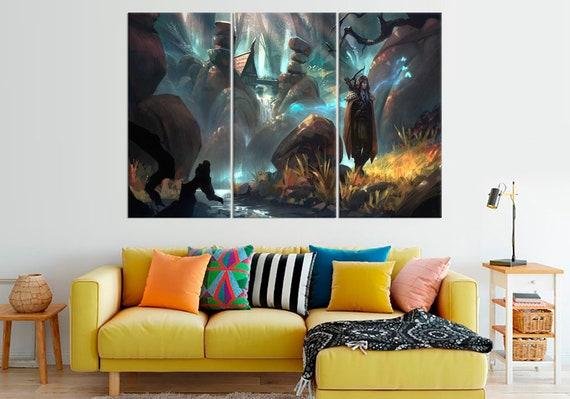 World Of Warcraft Wall Art WOW Print Wall Decor WOW Canvas | Etsy
