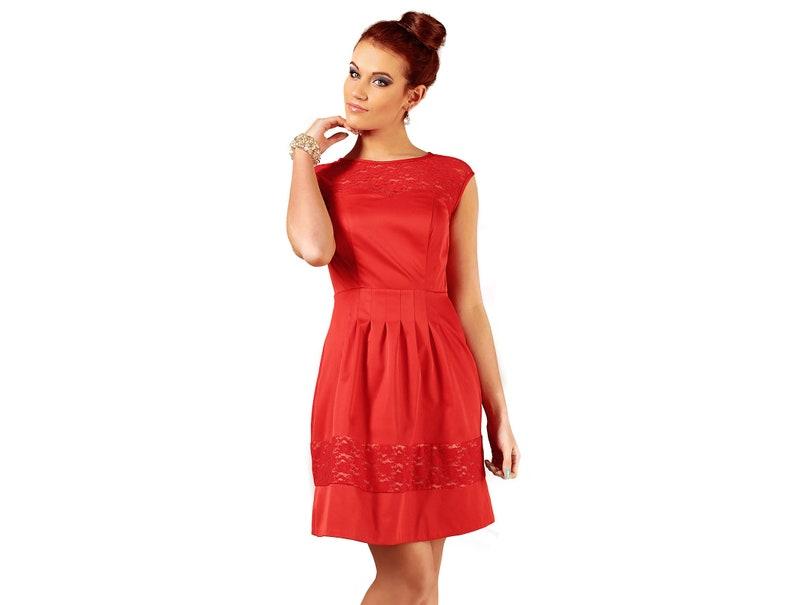 d5b90ba3d3 Zmysłowa sukienka w kolorze czerwonym Chiara