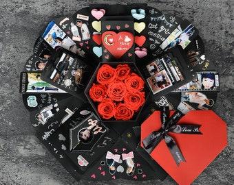 Explosion Box For Boyfriend Etsy