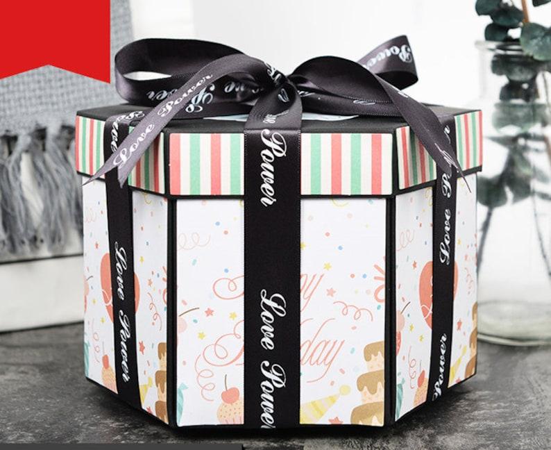 EBG Explosion Box Birthday Gift Photo Album Scrapbook