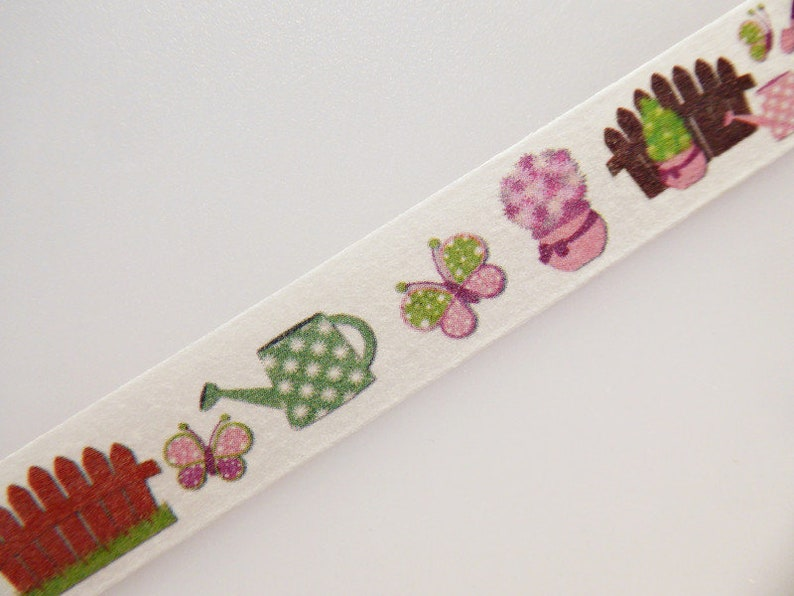Fence Garden Utensils Washi Tape Sample 1 x 1 m