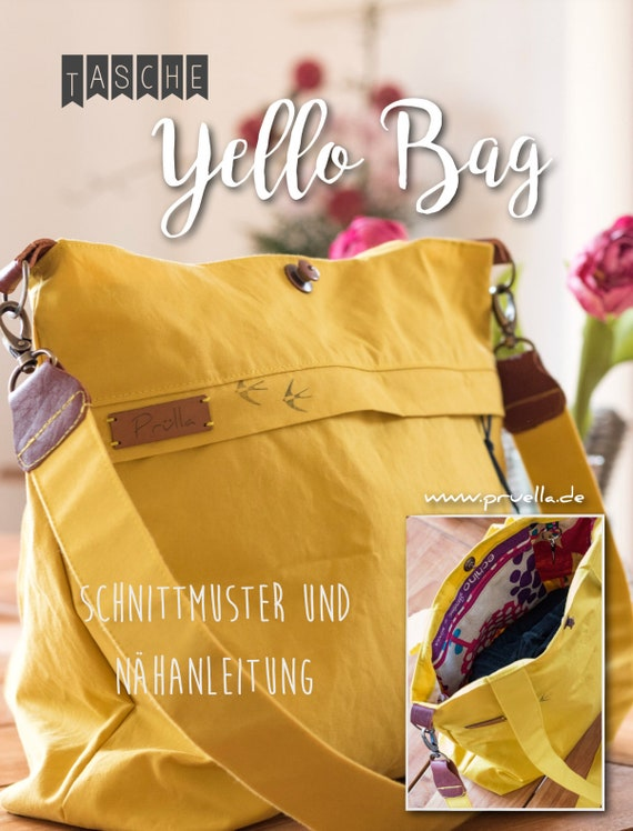 Ebook Schultertasche yello bag