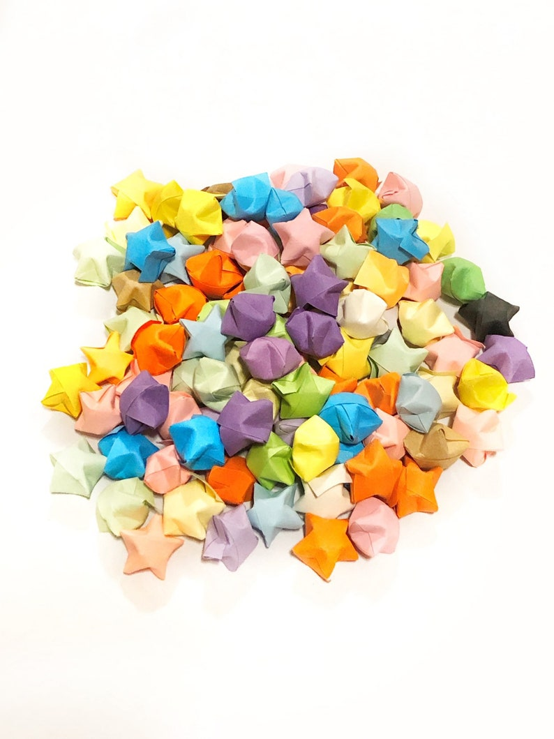 100 Origami Stars Japanese Teen Girls Gift