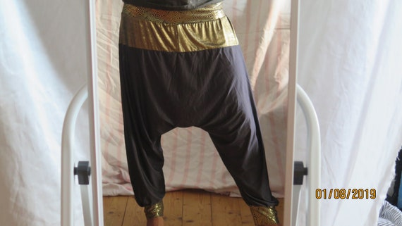 78 Capri Harem Pants SMeter **GoldFish**
