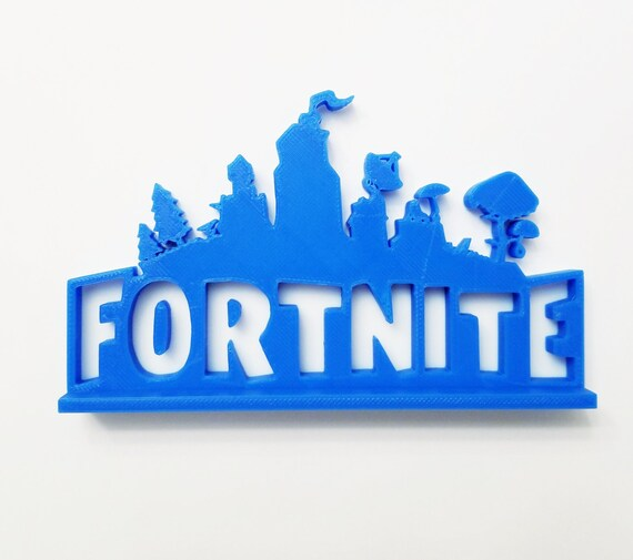 Small 6 Fortnite Logo Cake Shelf Topper W Base
