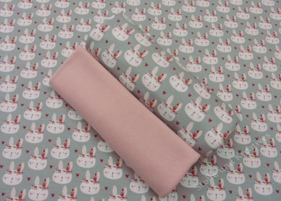 """French Terry Sommer Sweat /"""" Zootiere /"""" mint Kinderstoff"""