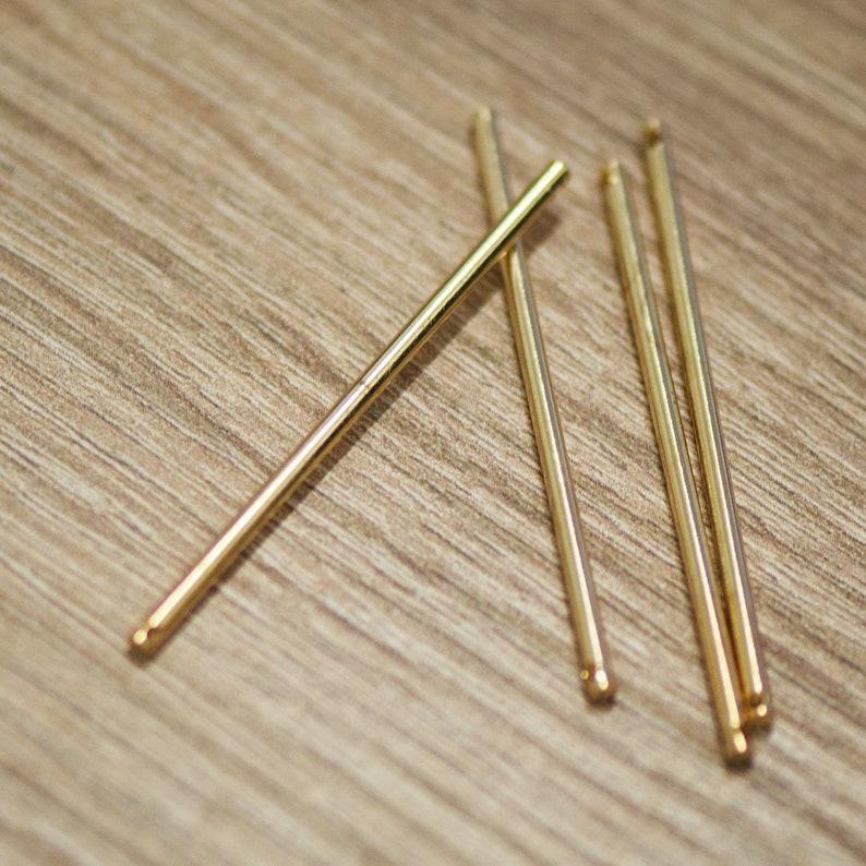 silvergolden 10x fine stick 50 x2 mm connectors