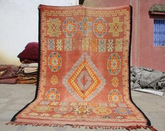 10.03x5.90 ft Berber boujaad rug,azilal rugs,azilal berber rug,Moroccan rug,berber rug, moroccan carpet , azilal, beni ourain rug,rugs