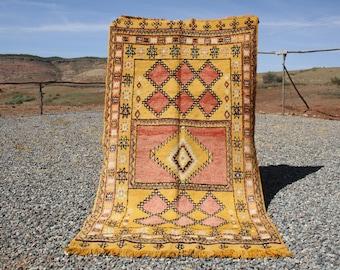 9.28x5.08 ft Vintage kilim rug , kilim rugs , Moroccan berber rug , Moroccan kilim,  kilim carpet, moroccan kilim rug,berber rug