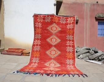8.85x5.24 ft Berber boujaad rug,azilal rugs,azilal berber rug,Moroccan rug,berber rug, moroccan carpet , azilal, beni ourain rug,rugs