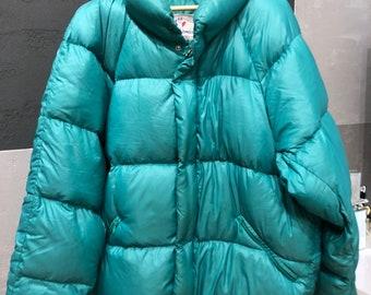 moncler turquoise parka jacket