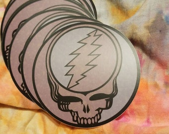 d4e821c8d5bc Grateful Dead Sticker - Stone Stealie Sticker - 3x3
