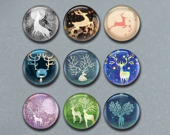 FJ731\uff09 10mm 12mm 14mm 16mm 18mm 20mm 25mm 30mm 35mm image cabochon charm Deer Cabochon,Elk Bird Snap Button charm,Pink Glass Dome