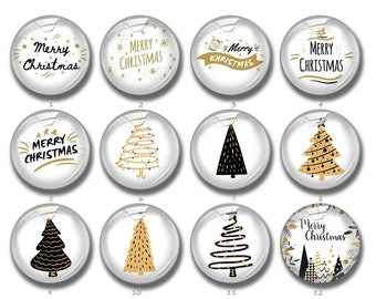 Festive Engraved Christmas Tree Cufflinks /& Engraved Gift Box Novelty Cufflinks Personalised Boxes Christmas - Xmas Cufflinks X2BOE007
