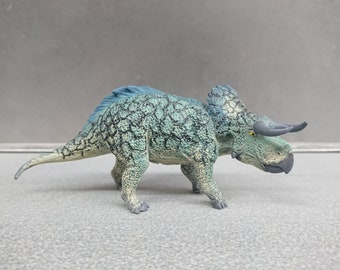 Collecta Figure Model Nasutoceratops Dino Dinosaur Repaint
