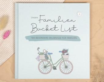 """Remembrance album """"Families Bucket List"""""""