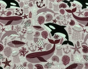 Cotton jersey, Miss v. Julie, Marine animals