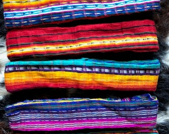 Authentic Mexican Serape Bandito Style Headbands d733288cb0