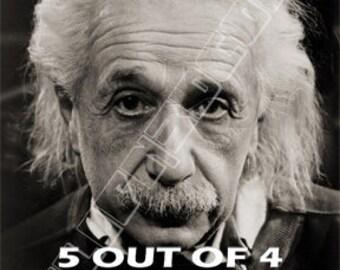 Cute Funny Math Albert Einstein  Quote 3D Lenticular Refrigerator Magnets