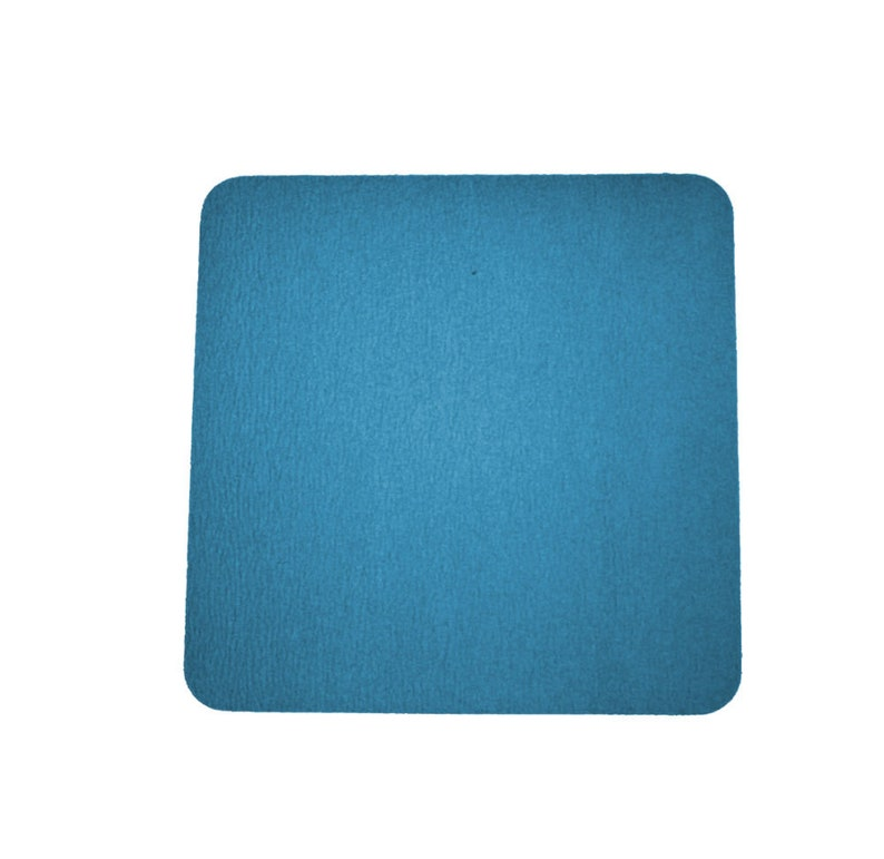 Wool felt 5 mm 35 x 35 cm rounded corners